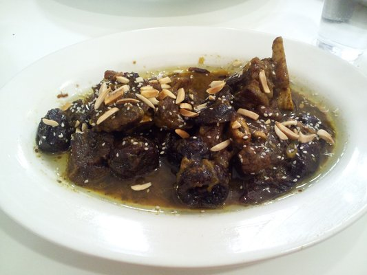 Lamb with Prunes